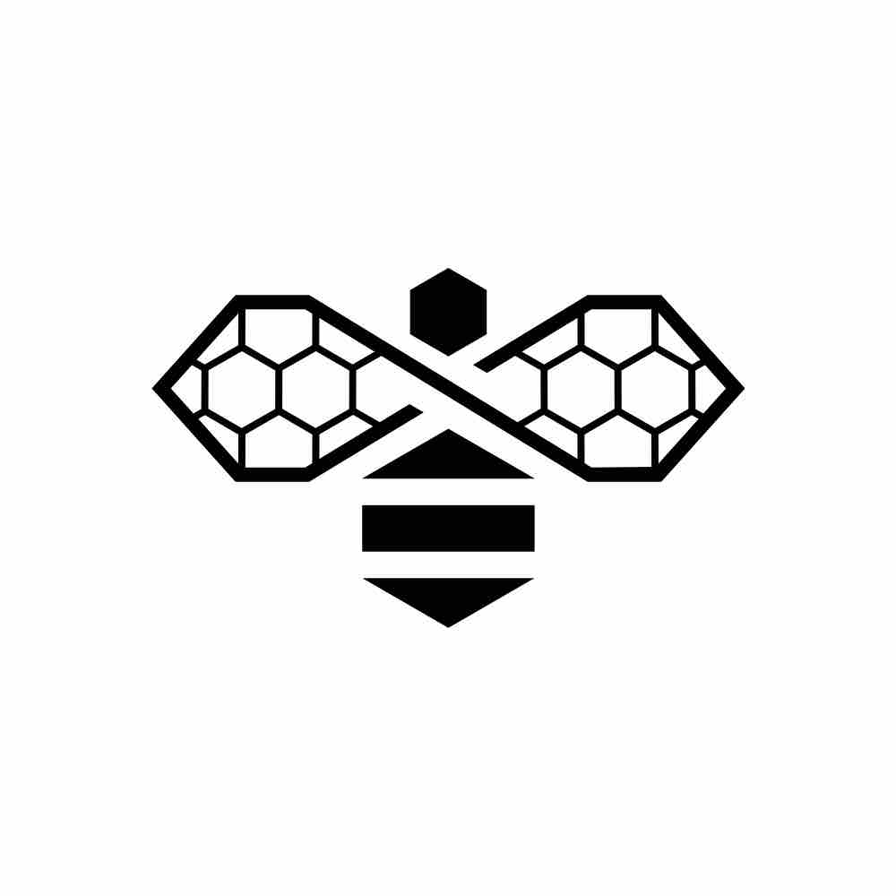 Art Deco Bee Logo