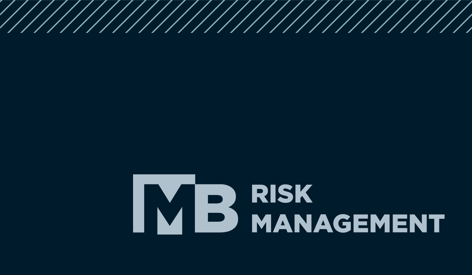Propr Agency's MB Risk Management Brand Strategy, Brand Identity, Web Design & Development, Digital & Print Design