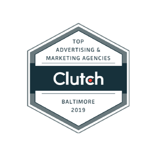 Top Marketing Agency Baltimore 2019 Clutch Badge