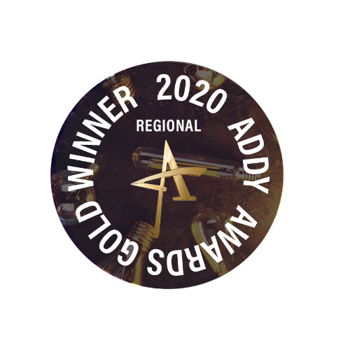 Regional Gold ADDY Badge