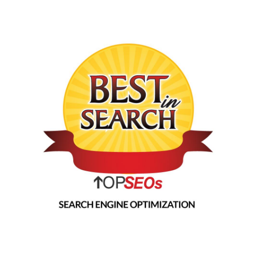 Top SEOs Best in Search SEO Badge