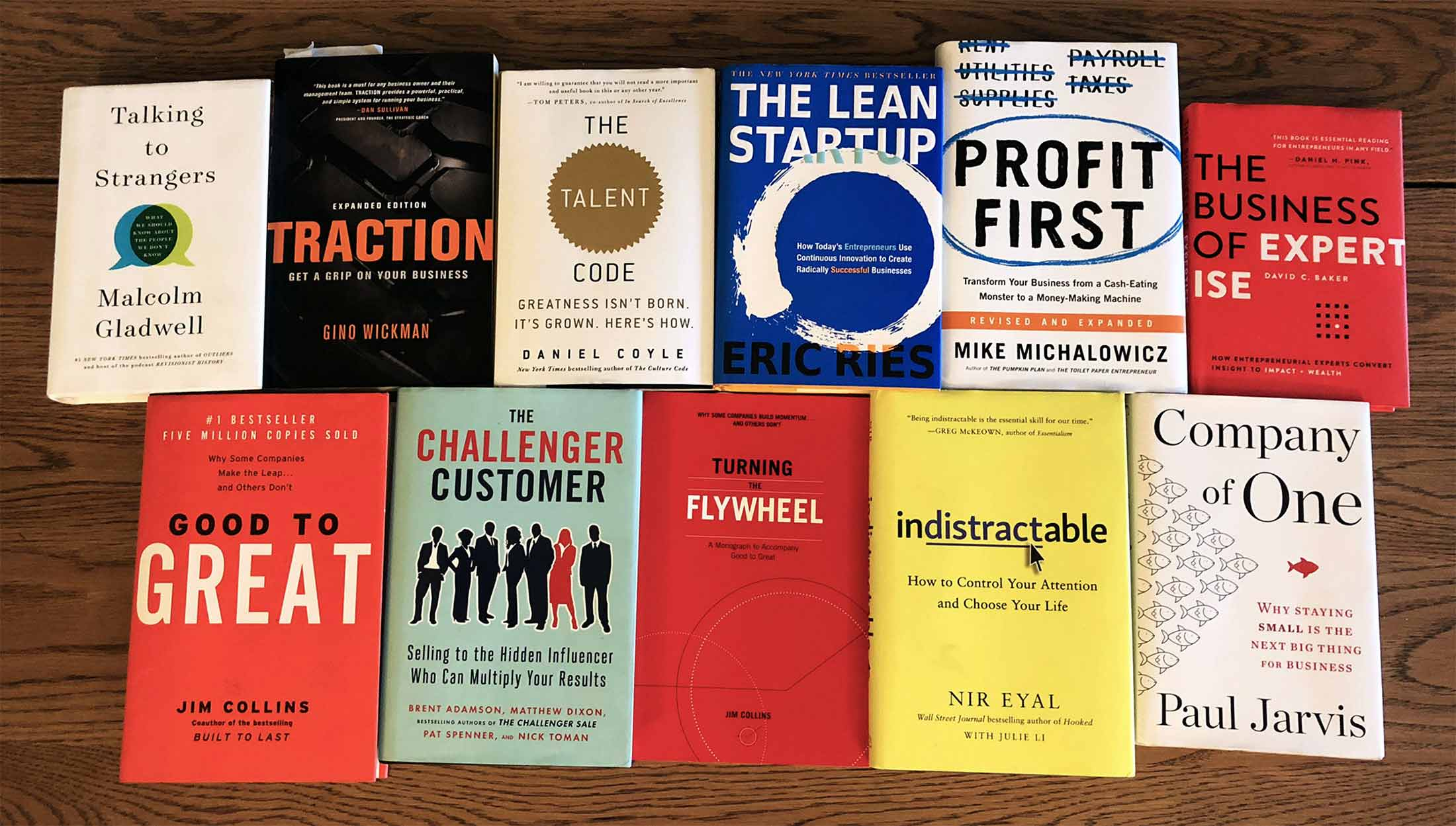 An Entreprenuer's Reading List