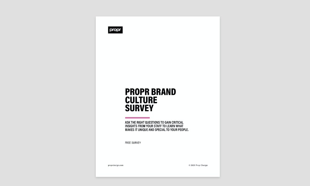 Brand Culture Survey Cover Image